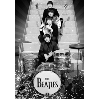 obraz 3D The Beatles - On Stage - GB Posters, GB posters, Beatles