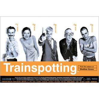 plakát Trainspotting Film Score - GB Posters - FP0288