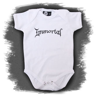 body dětské Immortal - Logo - White, Metal-Kids, Immortal
