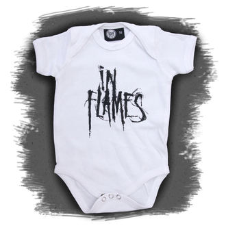 body dětské In Flames - Logo - White, Metal-Kids, In Flames