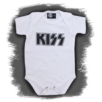 body dětské Kiss - Logo - White, Metal-Kids, Kiss