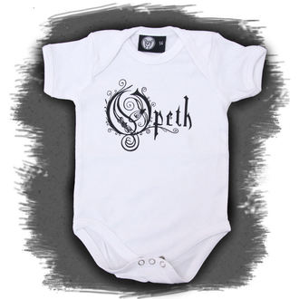 body dětské Opeth - Logo - White, Metal-Kids, Opeth