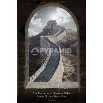plakát Journey Of A Thousand Miles - Pyramid Posters - PP31005