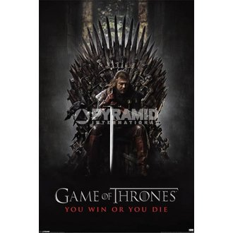 plakát Hra o trůny - You Win Or You Die - Pyramid Posters - PP32676