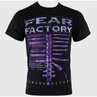 tričko pánské Fear Factory - Demanufacture - Black - LIVE NATION - RTFFA0010