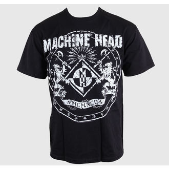 tričko pánské Machine Head - Classic Crest - EMI, EMI, Machine Head