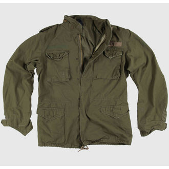 bunda pánská SURPLUS - Regiment M65 - OLIV, SURPLUS