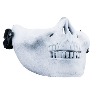 maska POIZEN INDUSTRIES - Skull Mask - White, POIZEN INDUSTRIES