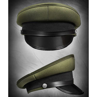 čepice RESTYLE - Military Officer - Olive green, RESTYLE