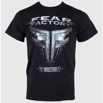 tričko pánské Fear Factory - The Industrialist - Black - LIVE NATION - PE10240