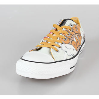 boty pánské CONVERSE - Green Day - Chuck Taylor All Star - CT OX White/Yellow, CONVERSE, Green Day