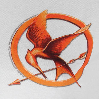 tričko dámské Hunger Games - Mocking Jay Pin - LIVE NATION - PE9613SKW