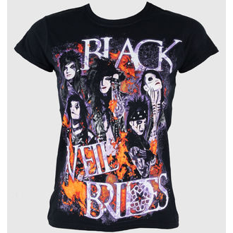 tričko dámské Black Veil Brides - Set On Fire - PLASTIC HEAD - PH5952