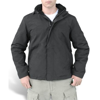 bunda pánská (větrovka) SURPLUS - Windbreaker - Black, SURPLUS
