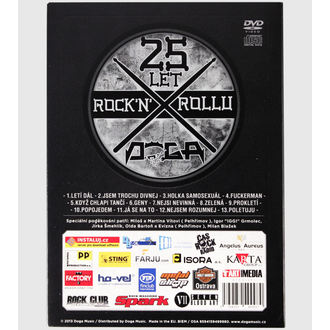 DVD DOGA 25 let Rock´n´Rollu
