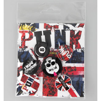 placky Punk Union Jack - GB posters, GB posters, Punk