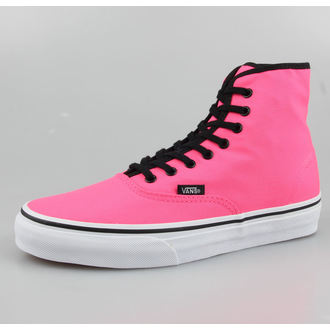 boty VANS - Authentic HI - Neon Pink - VRQFOFR