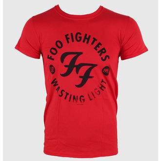 tričko pánské Foo Fighters - Wasting Time Red - LIVE NATION - RTFFI0550
