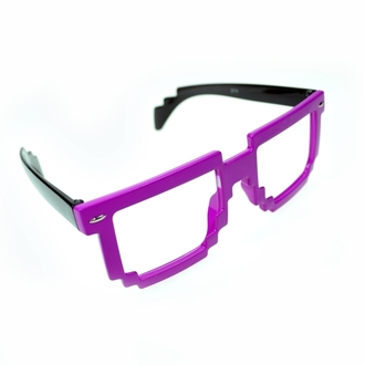 brýle POIZEN INDUSTRIES - 8 Bit Shades - Pink/Black