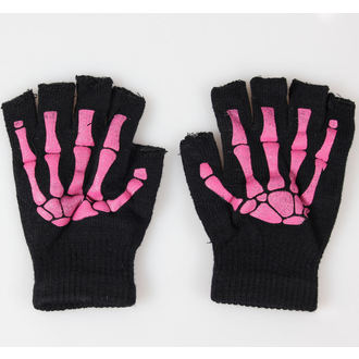 rukavice bezprsté POIZEN INDUSTRIES - BGS Gloves - Black/Pink