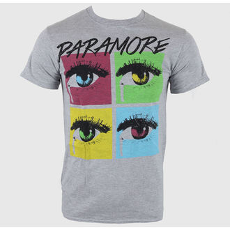 tričko pánské Paramore - Pop Tear Sports Grey - LIVE NATION - PE10201TSC