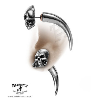náušnice The Alchemist Horn - Single - ALCHEMY GOTHIC - E319