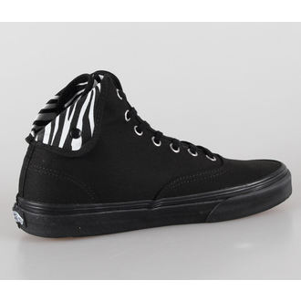 boty VANS - U Authentic Hi 2 - (Zebra) black/black