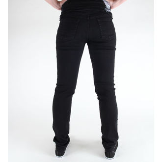 kalhoty (unisex) 3RDAND56th - Hipster Slim Fit - Black - JM372