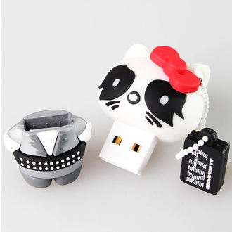 flash disc USB 8GB (přívěšek) KISS - HELLO KITTY - The Catman, HELLO KITTY, Kiss