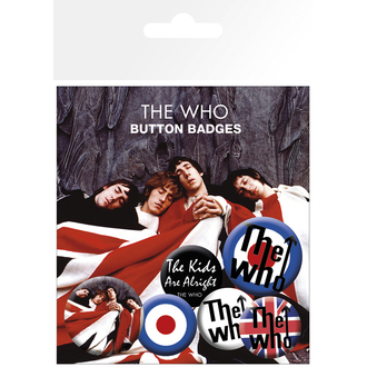 placky The Who - Lyrics And Logos - BP0464