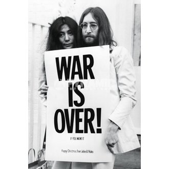 plakát John Lennon - War Is Over - PYRAMID POSTERS - PP32563