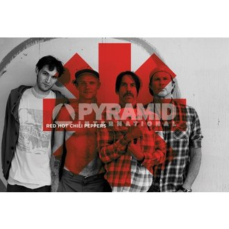 plakát Red Hot Chili Peppers - Red Asterix - PYRAMID POSTERS - PP32844