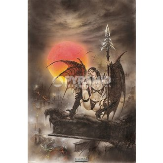 plakát Luis Royo - Black Tinkerbell - PYRAMID POSTERS - PP33089