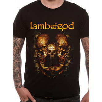 tričko pánské Lamb Of God - Shrine - Black - LIVE NATION, LIVE NATION, Lamb of God