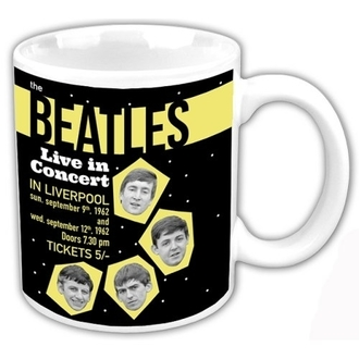 hrnek The Beatles - Live In Concert - ROCK OFF - BEAT62MUG03