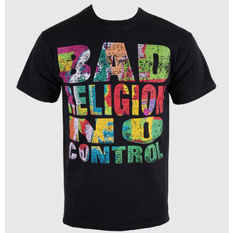 tričko pánské Bad Religion - No Control - Black - KINGS ROAD, KINGS ROAD, Bad Religion