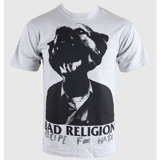 tričko pánské Bad Religion - Recipe For Hate - Heather Gray - KINGS ROAD, KINGS ROAD, Bad Religion