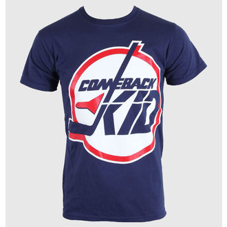 tričko pánské Comeback Kid - Jets - Blue Navy - KINGS ROAD - 00016, KINGS ROAD