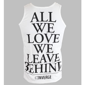 tílko pánské Converge - All We Love - White - KINGS ROAD - 40239