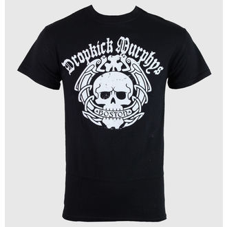tričko pánské Dropkick Murphys - Boston Skull - Black - KINGS ROAD - 50450