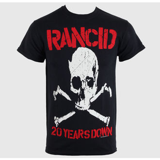 tričko pánské Rancid - 20 Years Down - Black - RAGEWEAR, RAGEWEAR, Rancid