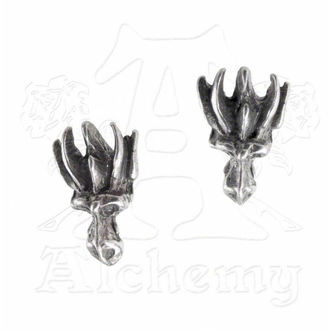náušnice Dragons Lure Head Studs - ALCHEMY GOTHIC