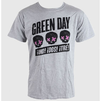 tričko pánské Green Day - Heads Better Than - Grey - BRAVADO EU, BRAVADO EU, Green Day