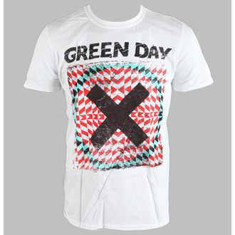 tričko pánské Green Day - Xllusion - White - BRAVADO EU, BRAVADO EU, Green Day