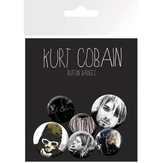 placky Kurt Cobain - GB Posters - BP0433
