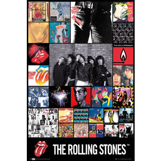 plakát The Rolling Stones - Discography Maxi - GB posters - LP1675