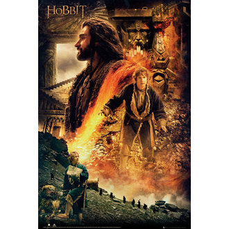 plakát Hobit - Desolation of Smaug Fire - GB posters - FP3089