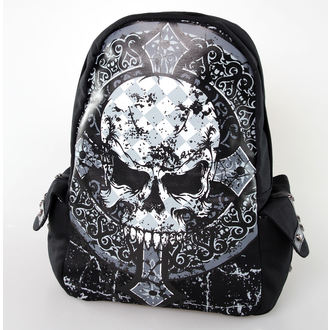 batoh BANNED - Skull Cross - Black, BANNED