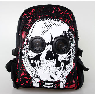 batoh BANNED - Skull Speaker - Black, BANNED