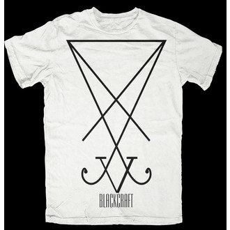 tričko pánské BLACK CRAFT - Sigil of Lucifer - White - WHT002SR